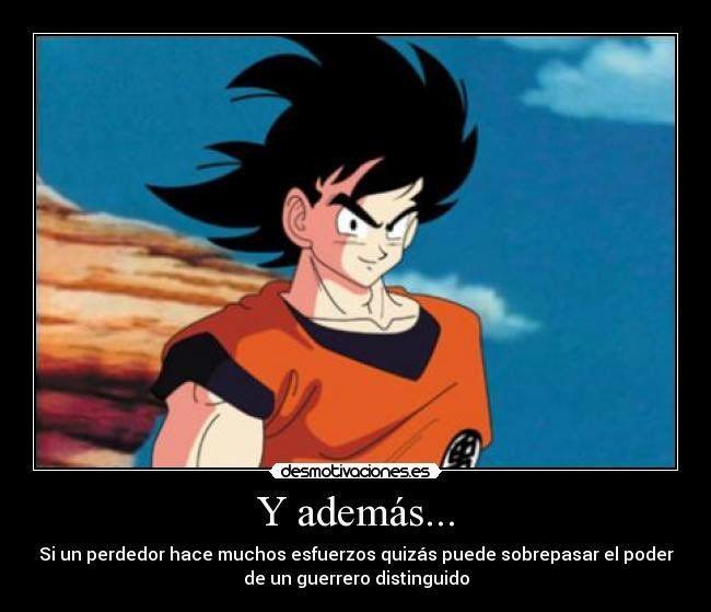 Goku Motivación Anime Amino