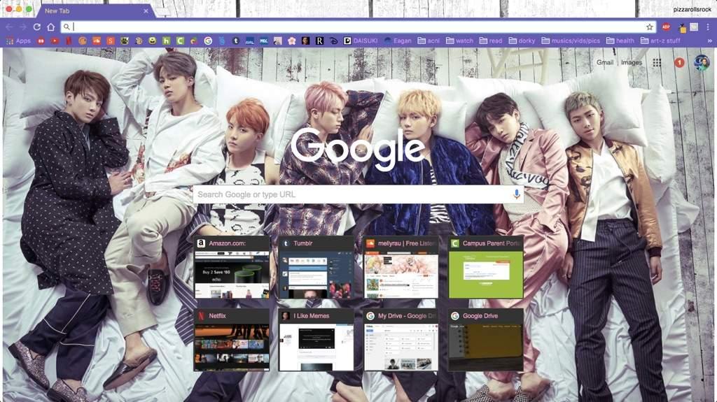 BTS Google Chrome Themes   ARMY's Amino