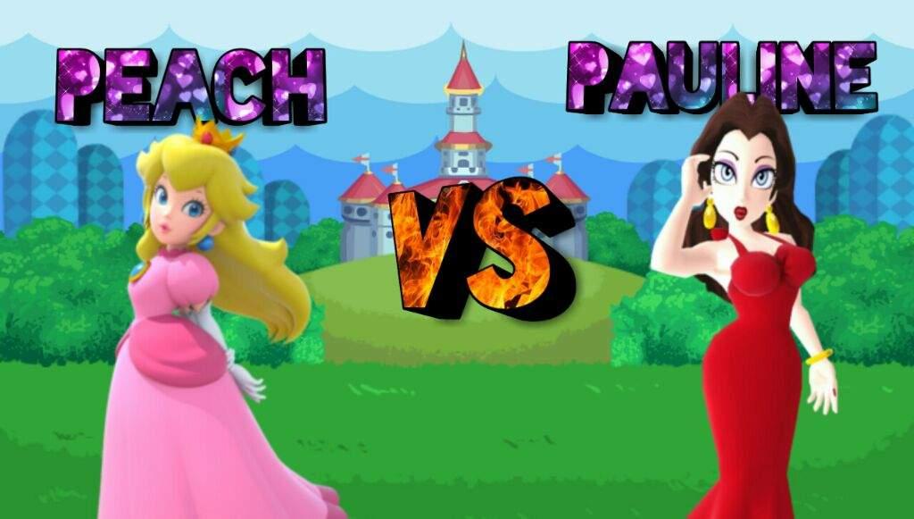 Peach vs Pauline | Mario Amino
