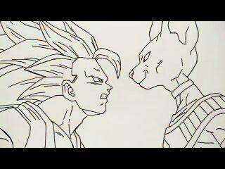 Bills Vs Goku Dragonball Reborn Amino