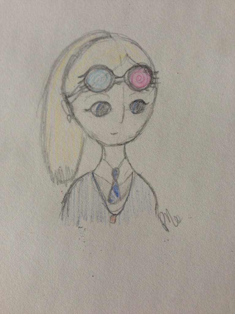 Luna Lovegood Fan Art Harry Potter Amino