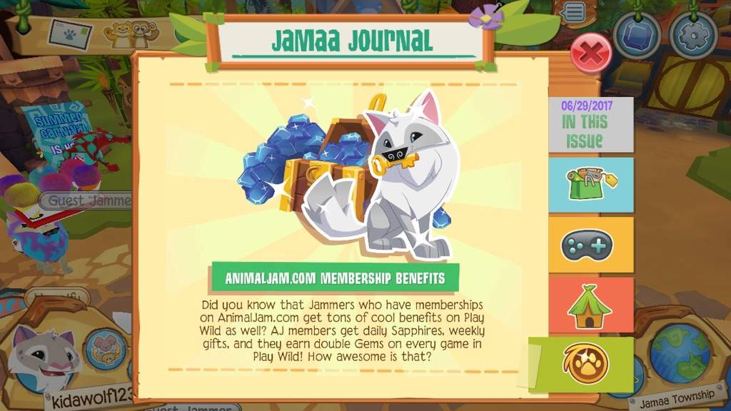 Animal Jam Update 29 06 2017 Aj Amino Amino