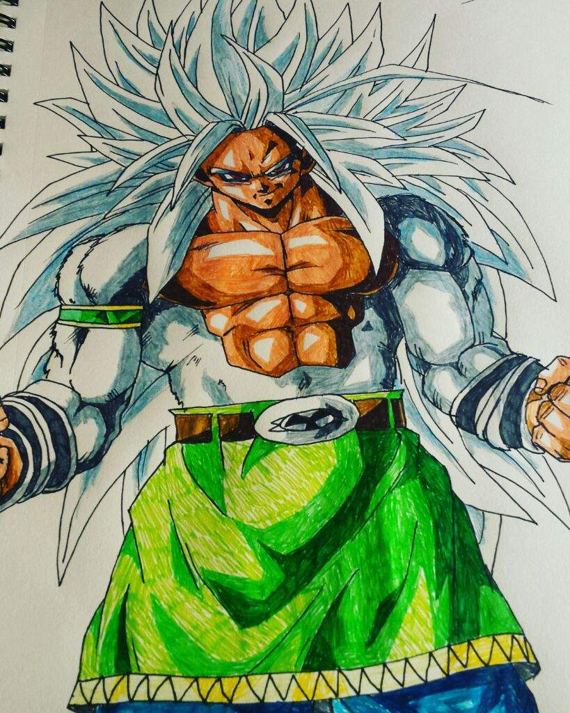 Goku In His Ultimate Super Saiyan 5 Form Dragonballz Amino