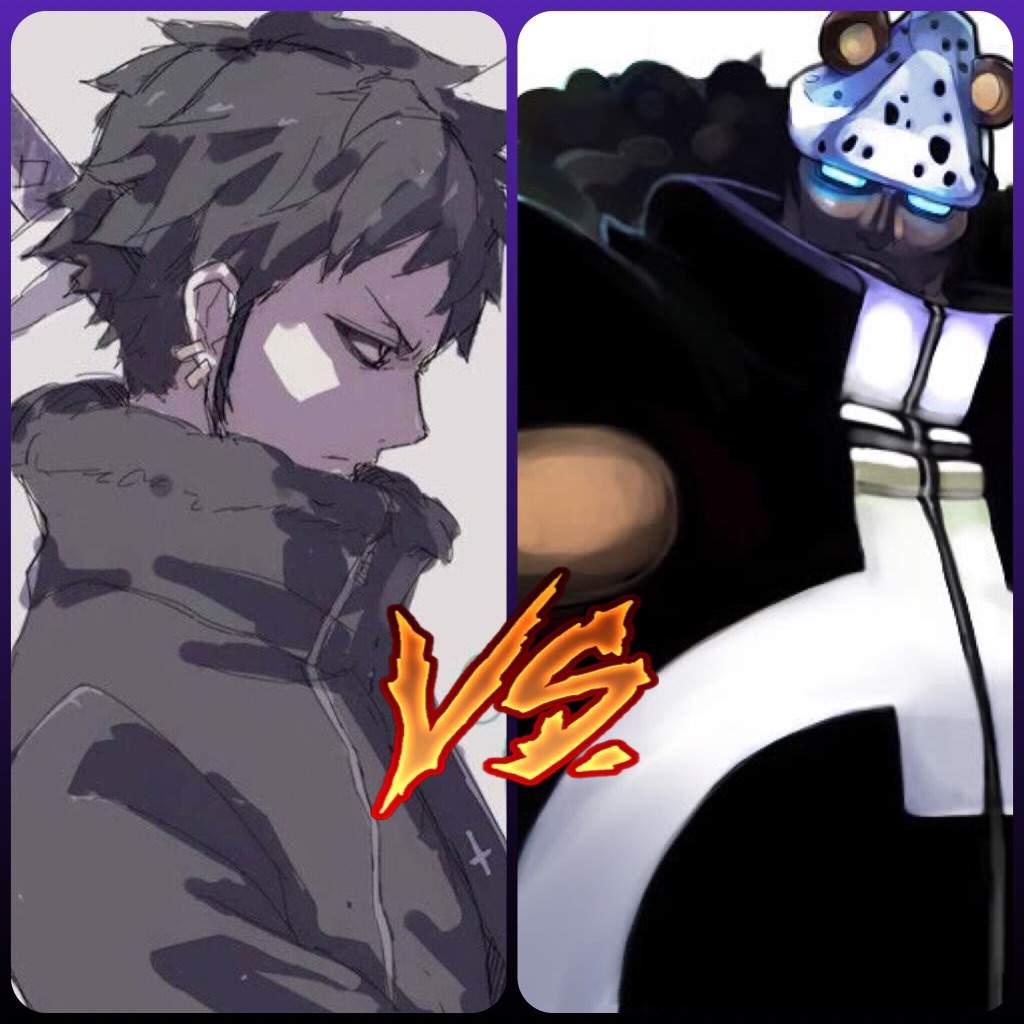 Weekly Random Fight Polls 18 Surgeon Of Death Trafalgar D Law Vs Tyrant Bartholomeow Kuma One Piece Amino