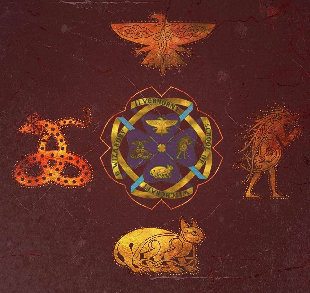 Then You Have The Four Houses Of Hogwarts They Are Gryffindor House Brave Hufflepuff Loyal Ravenclaw