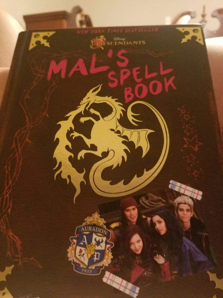 Mal's Spellbook (A Fanfiction) Chapter 3 | Disney