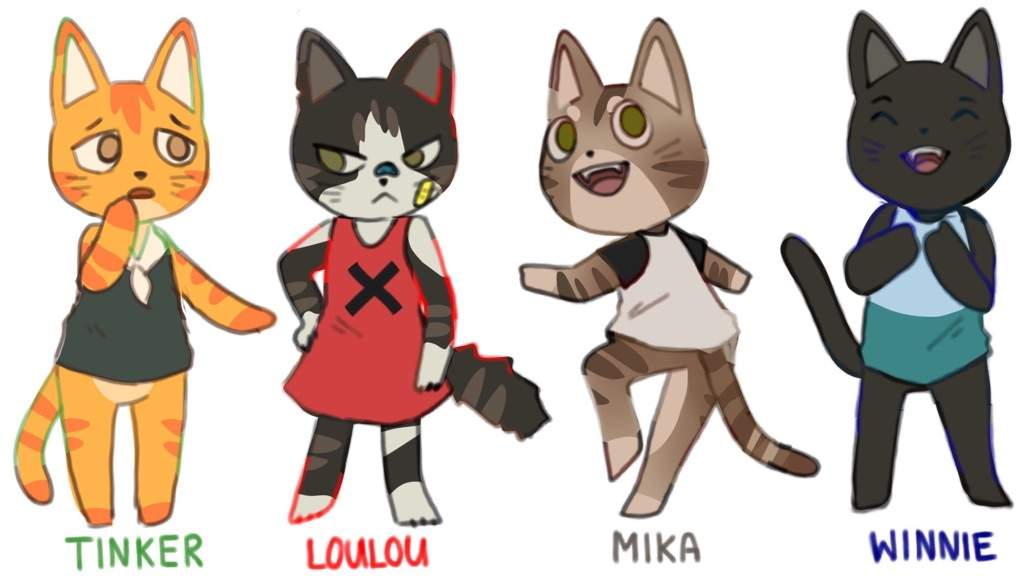 My Cats As Villagers Animal Crossing Amino