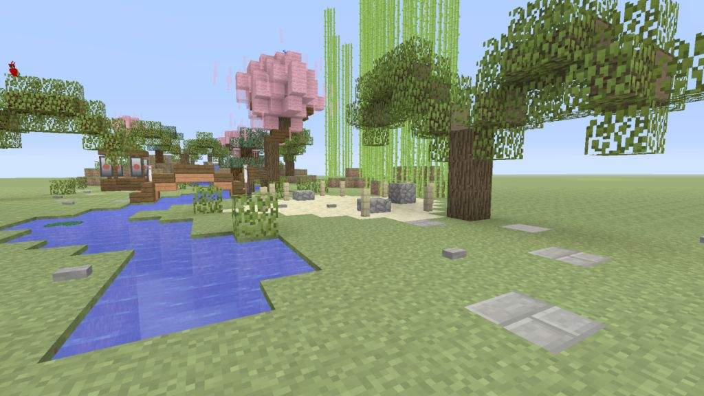 bamboo and zen garden - Japanese Zen Garden Minecraft