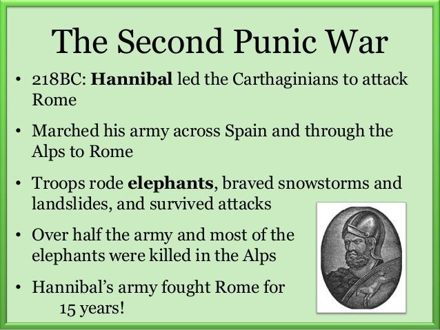 second punic