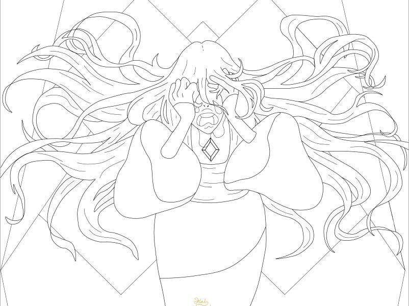 ☆ FanArt ☆ Diamante Azul ☆ The Trial ☆ | Steven Universe Español ...