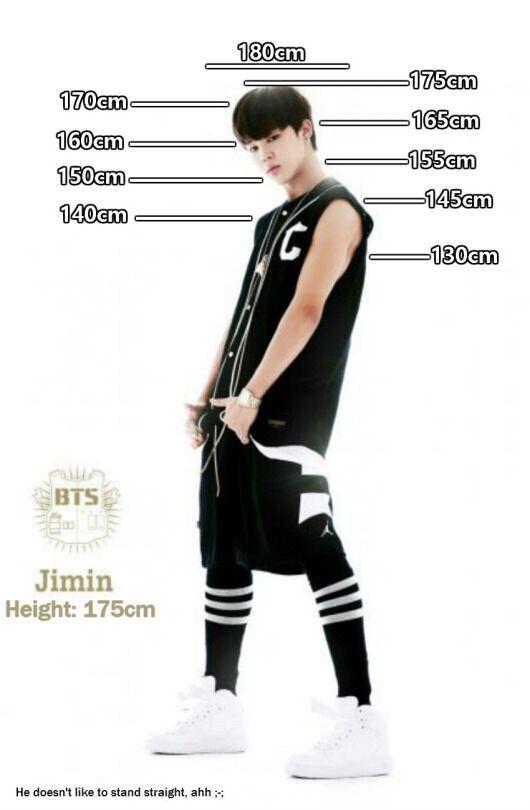 And jimin suga tall is how BTS's Suga