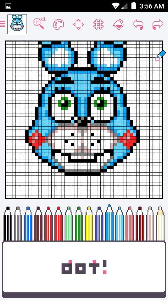 Bon Bon Toy Bonnie Pixel Art Fnaf Sister Location Amino