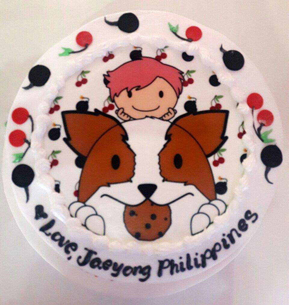 Taeyongs Birthday Cake By Jaeyongphilippines Nct Amino