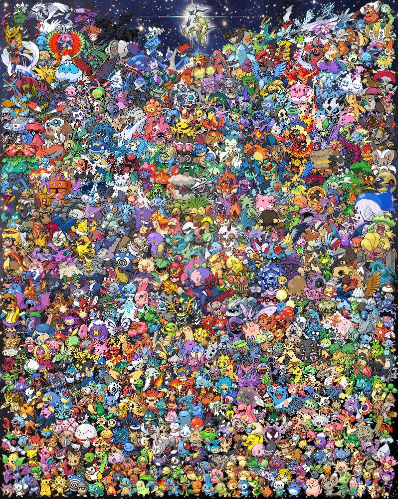 all 802 pokemon pokémon amino