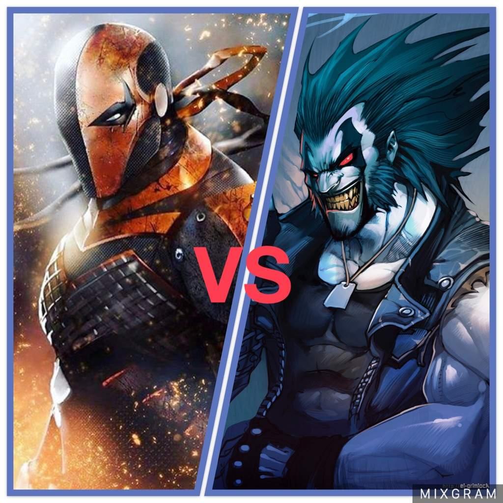 Deathstroke vs Lobo: W...