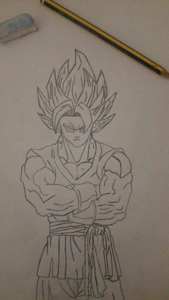 Dibujo De Vegetto Sin Colorear Dragon Ball Español Amino