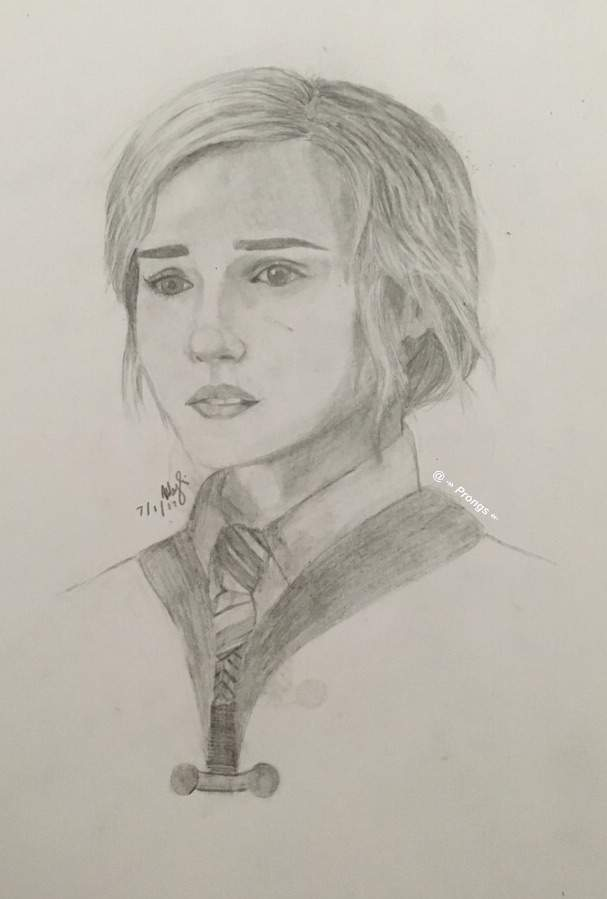 A Drawing Of Hermione Granger Harry Potter Amino