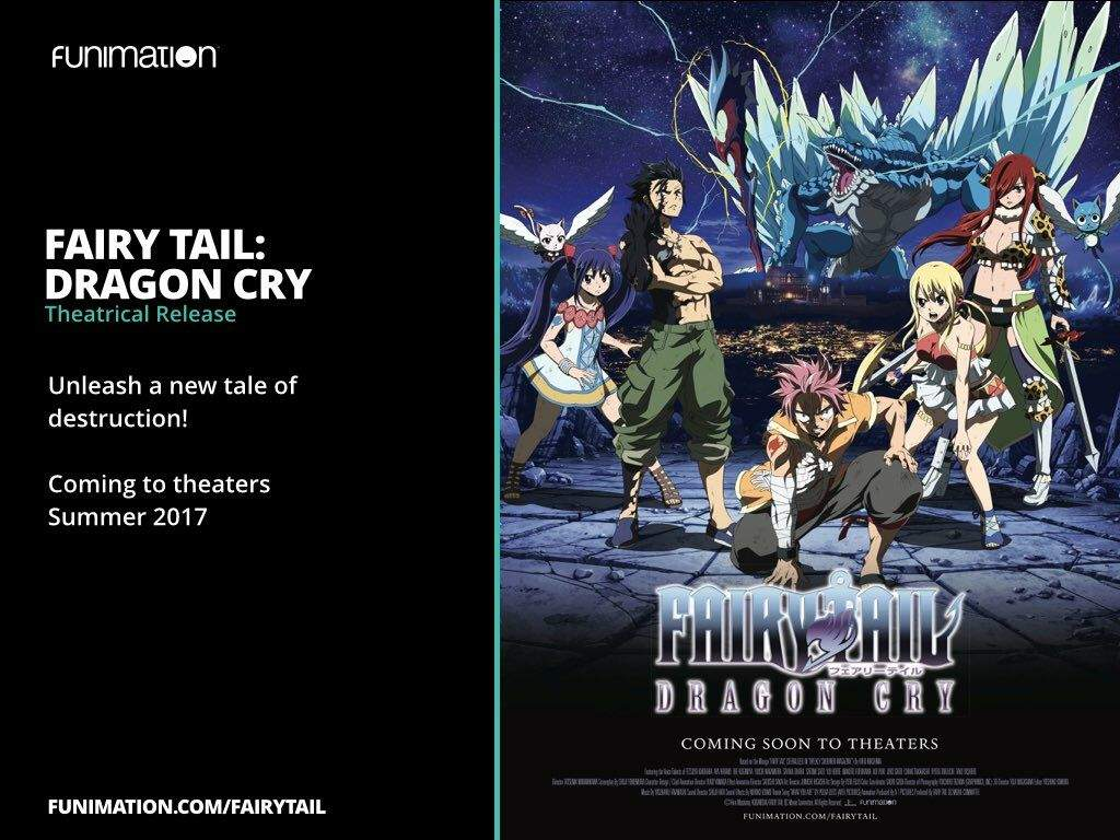 Fairy Tail Dragon Cry Anime Amino