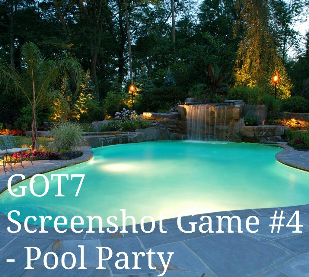 got7 screenshot game 4 pool party got7 daily amino