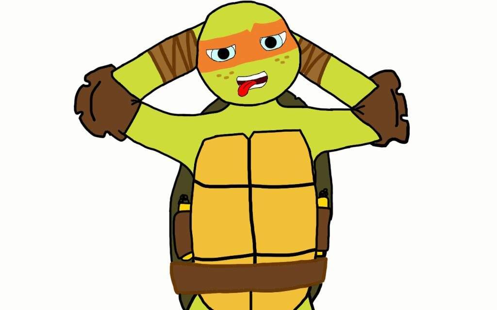 Michelangelo Fanart Fiz Com Muito Carinho Espero Que Gostem Do