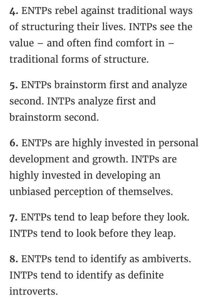 INTP😶 or ENTP😜? | Myers Briggs [MBTI] Amino