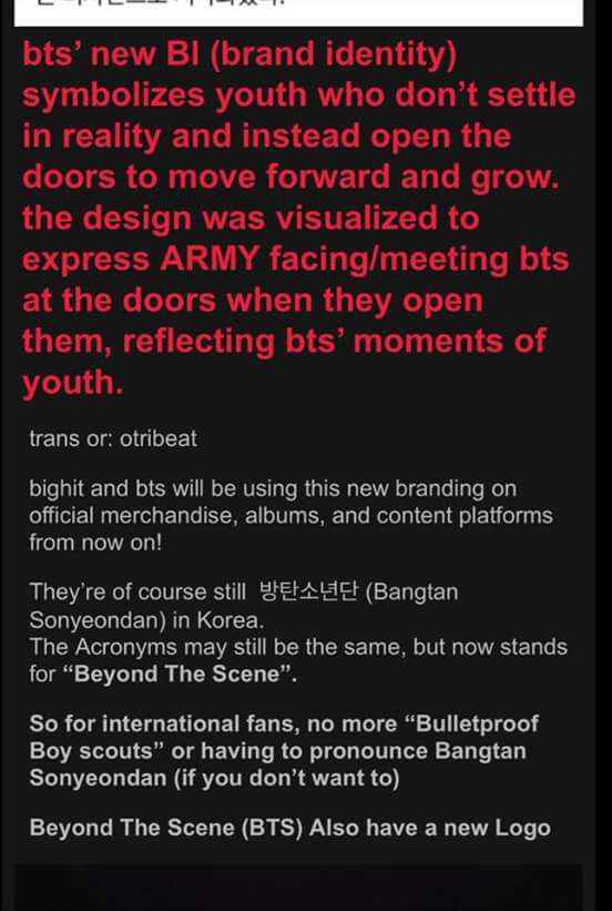 Bts Is Changing Their Group Name Armys Amino