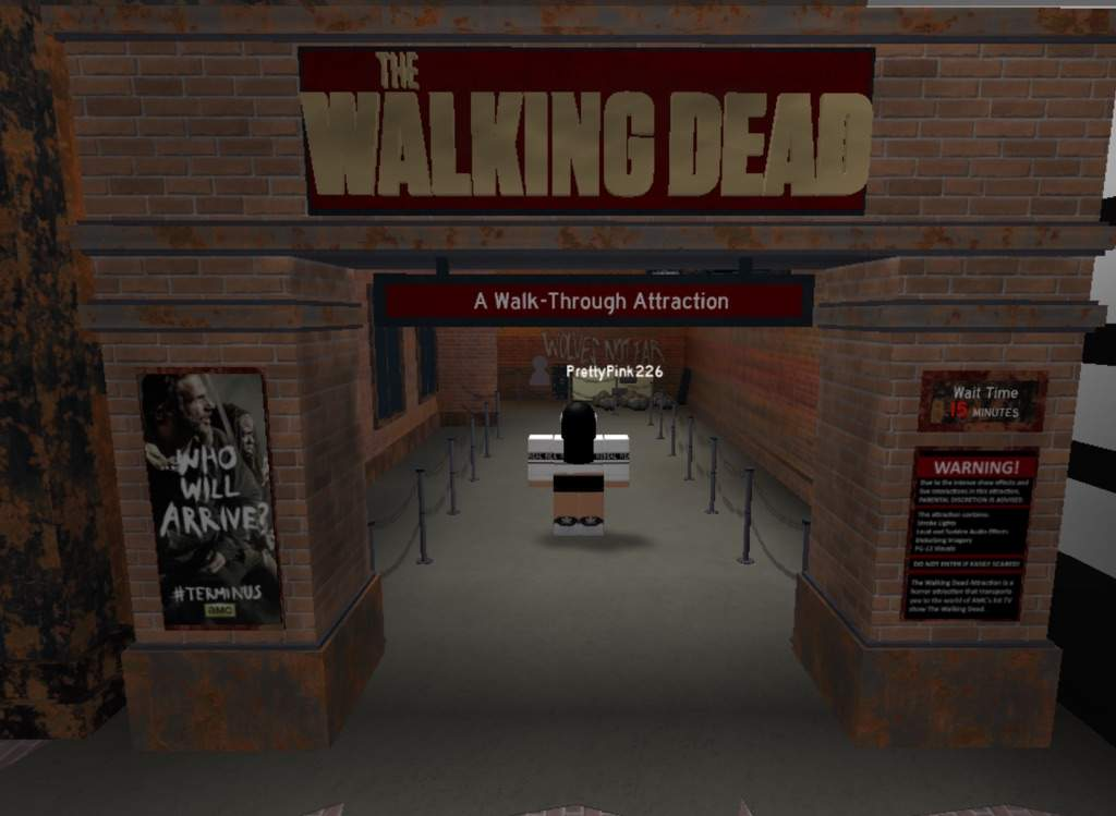 The Walking Dead Roblox Universal Studios Roblox Wiki Roblox Amino