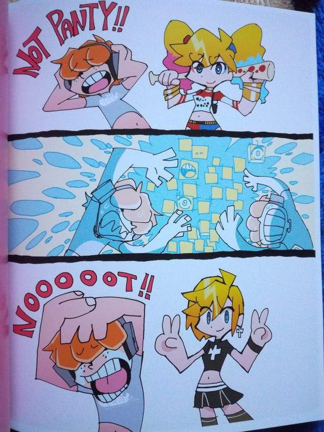 Panty and stocking brief