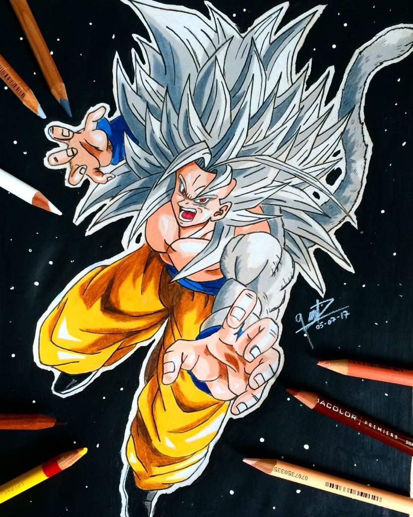 Super saiyan 5 dragonballz amino - Goku super sayan 5 ...