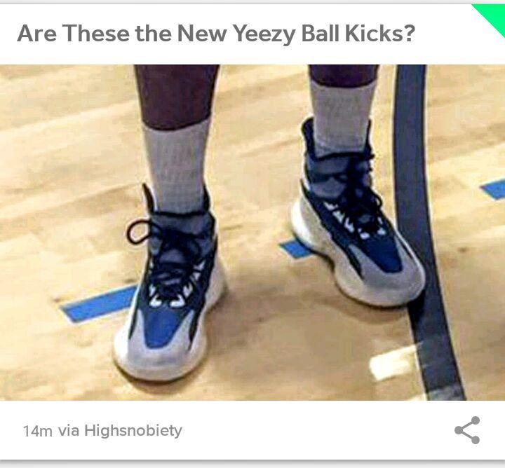 timeless design c4404 71a1b New Yeezy Basketball sneaker??!! | Sneakerheads Amino