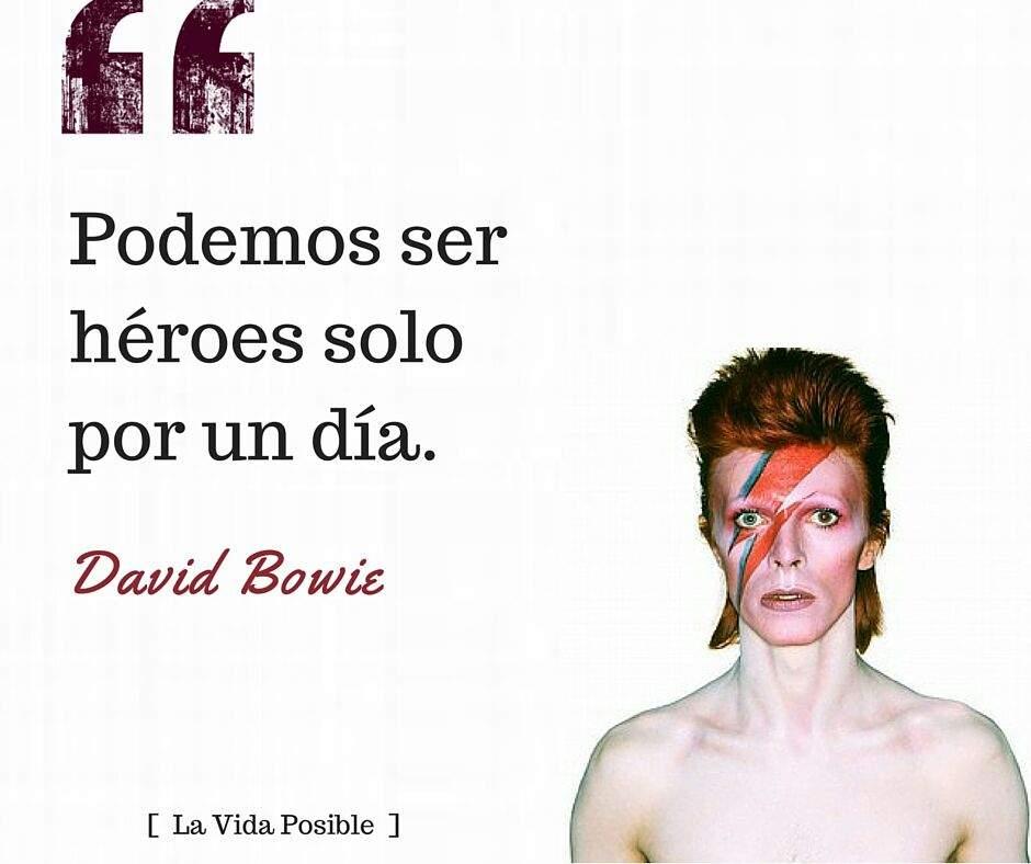David Bowiefrases Rock Amino Amino