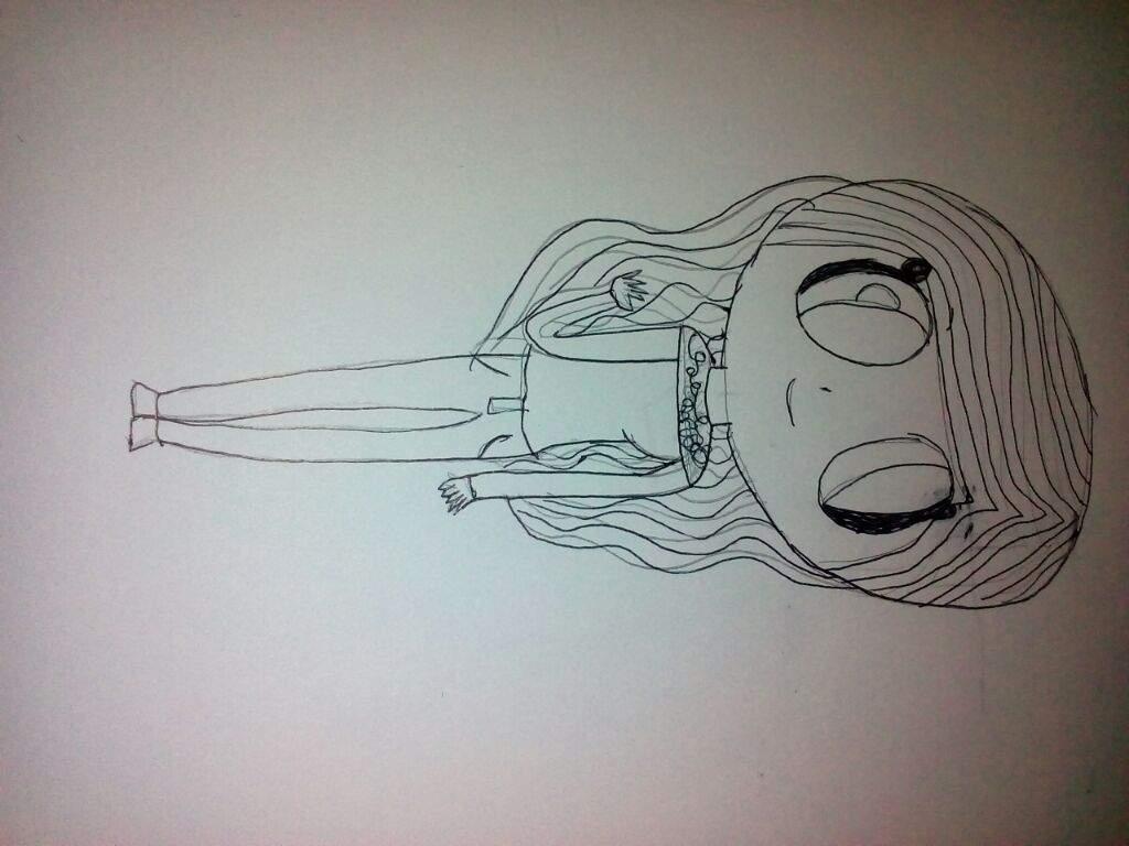 Dibujo De Karen Al Estilo Fnafhs Los Polinesios Amino Amino