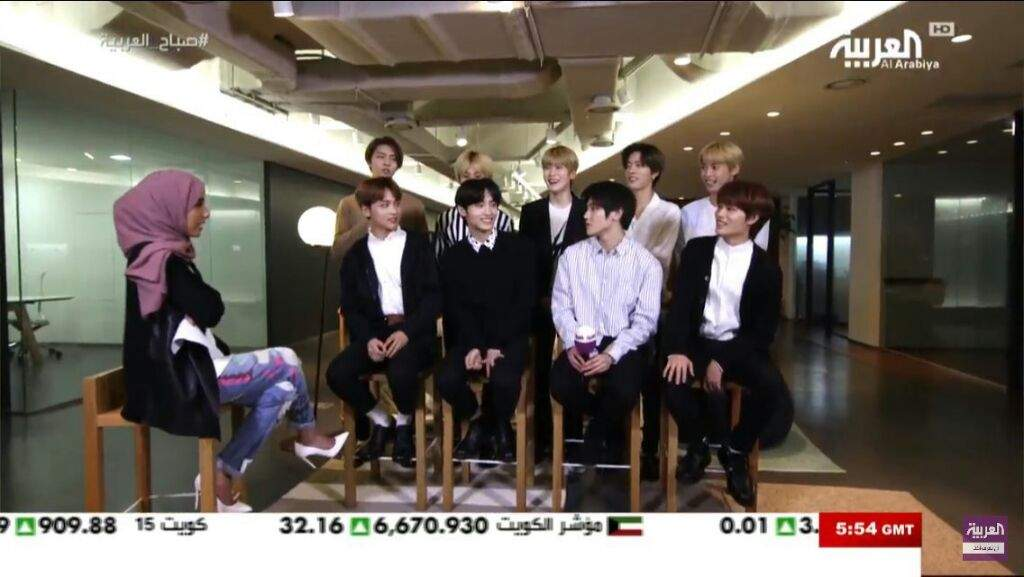 NCT127 will have an Arabic interview on Sunday and Monday