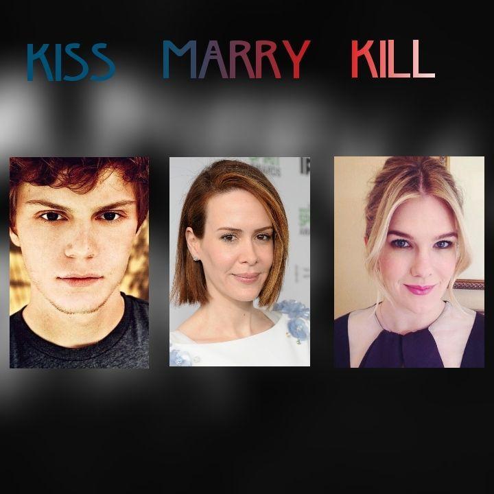 kiss marry kill