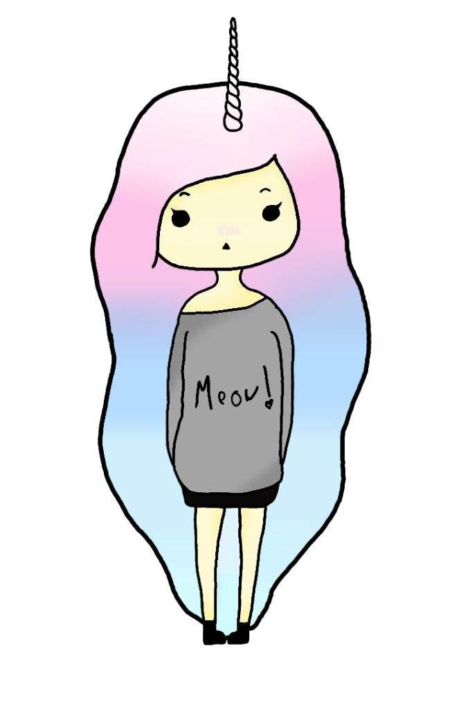 Pastel Unicorn Girl Art Pastel Goth Aesthetics Amino