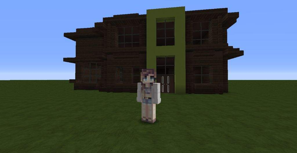 how to build a shop in minecraft