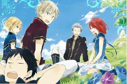 """Résultat de recherche d'images pour """"Akagami no Shirayuki Hime manga color"""""""