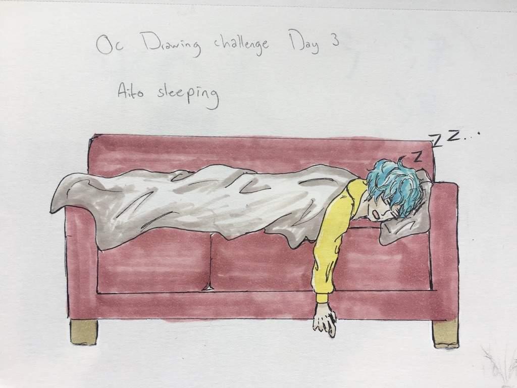 Oc Drawing challenge Day 3 | Art Amino