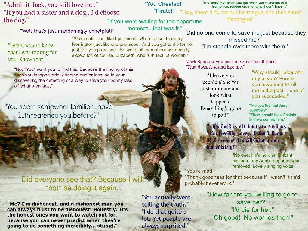 Pirates Of The Caribbean Quotes 15 Best Quotes In Potc  Pirates Of The Caribbean Amino