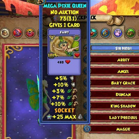 Nightshade pet wizard101