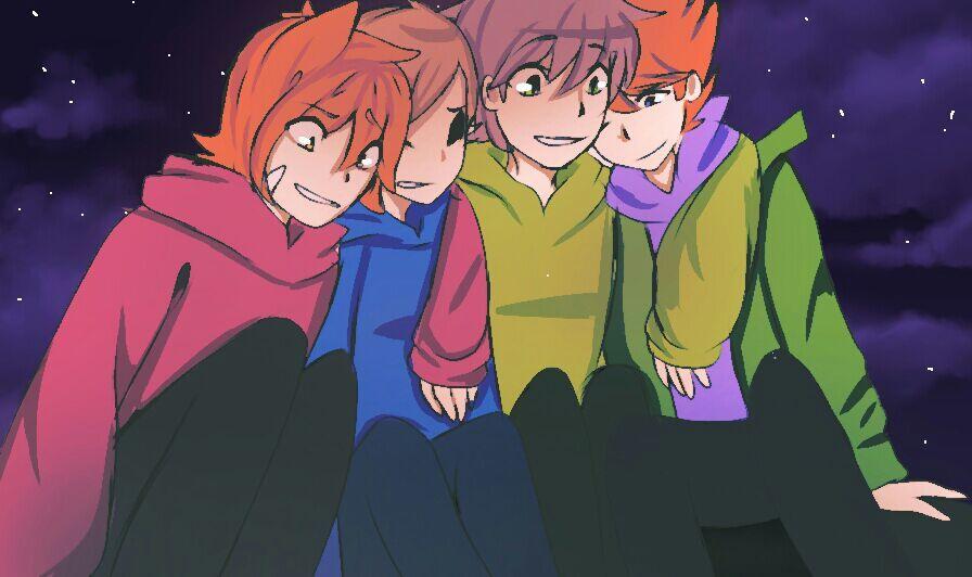 eddsworld anime animation qwq