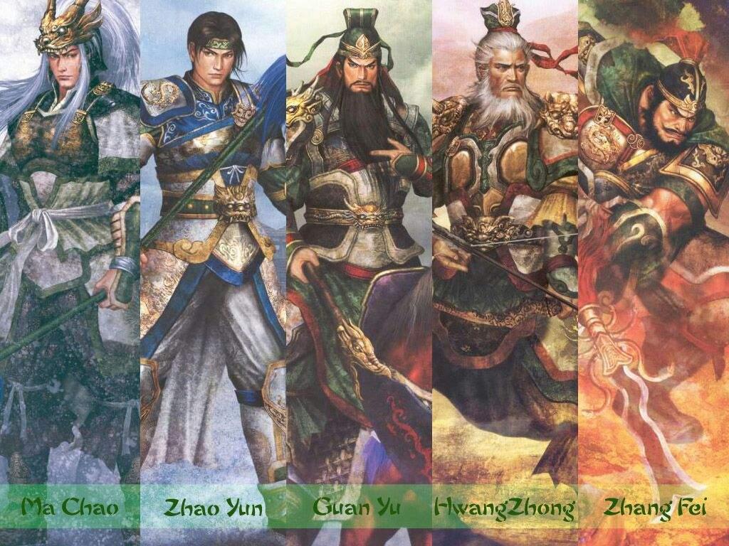 5 Tiger Generals