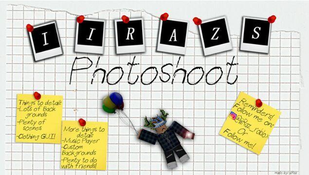 Roblox Photoshoot Roblox Amino -