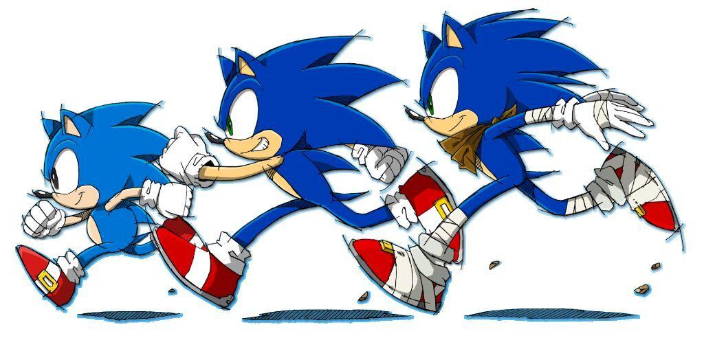 Modern Sonic In Sonic The Hedgehog Amino