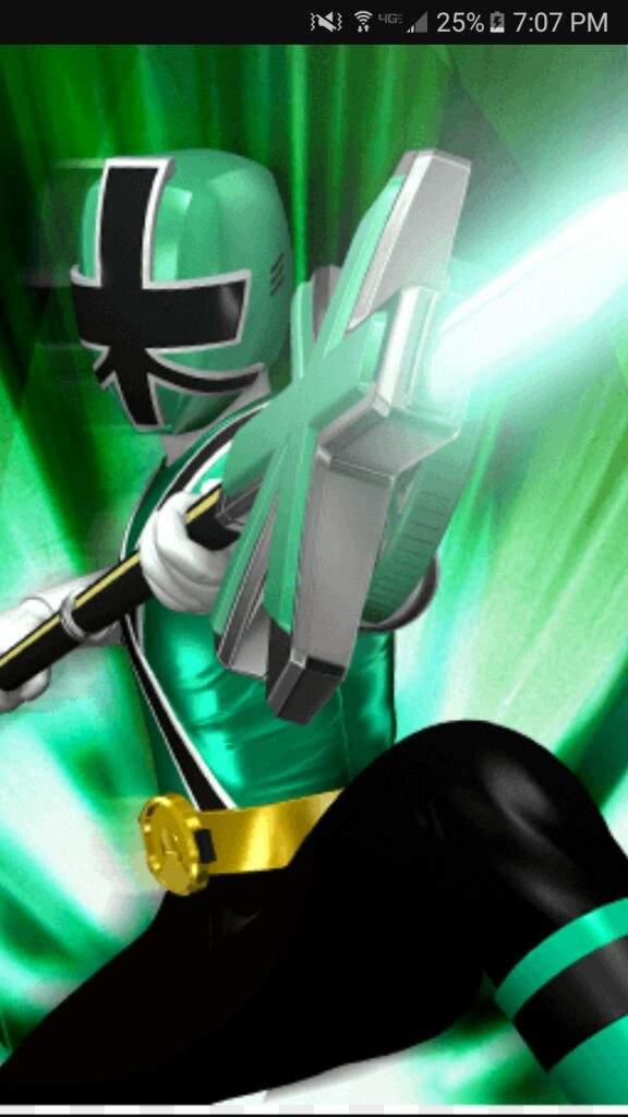Green Samurai Ranger(female) | Power Rangers World Amino