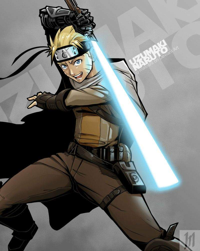 [A Different Take] Naruto // Star Wars Crossover