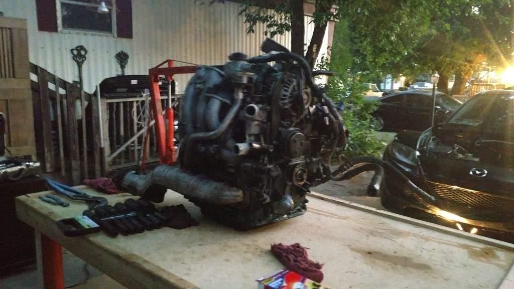 Mazda RX-8 Engine Rebuild Part 2: Engine Teardown Started