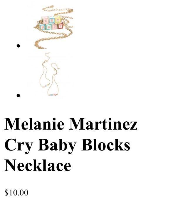 Productos de Melanie   Cry Baby Amino Amino