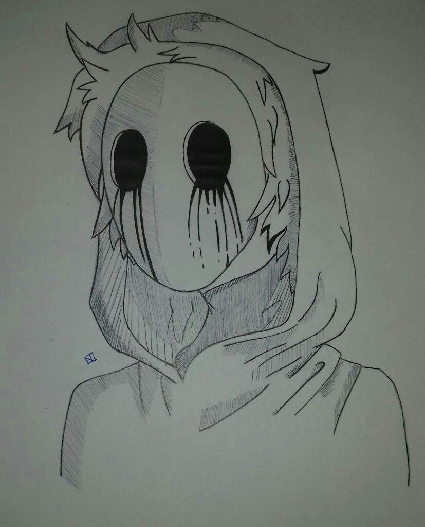 Dibujo de Eyeless Jack ✏✒   CREEPYPASTAS AMINO. Amino