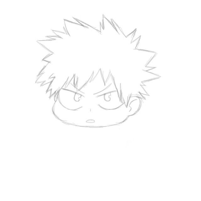 Bakugou Drawing My Hero Academia Amino